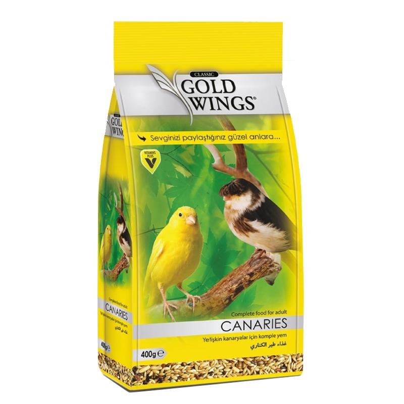 Mancare completa pentru canari, Gold Wings Classic Canary, 400 g imagine