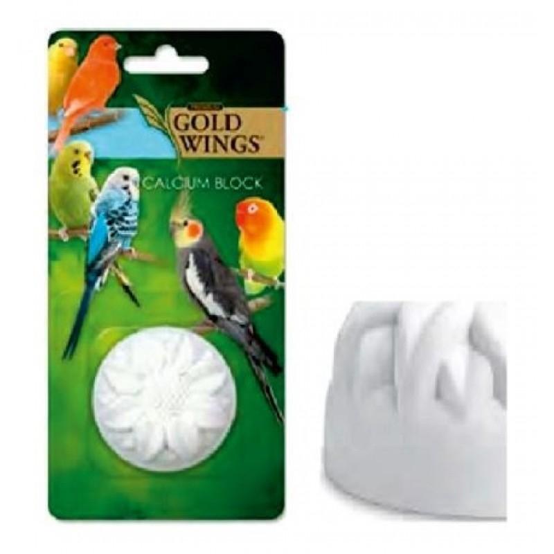 Bloc de calciu pentru pasari, Gold Wings Premium Calcium Block, 20 g imagine