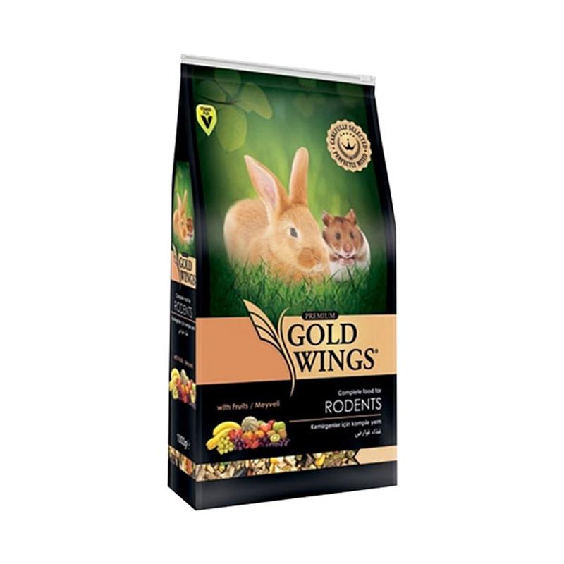Mancare completa Premium pentru rozatoare, Gold Wings Premium Rodent, 750 g imagine