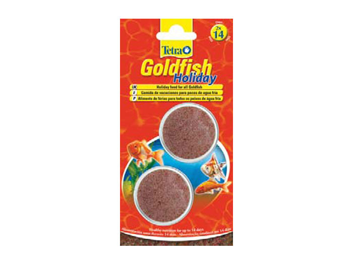 Tetra Animin/goldfisch Holiday 2x12g