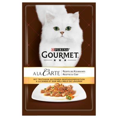 Gourmet A la Carte, Curcan si Legume, 85 g imagine