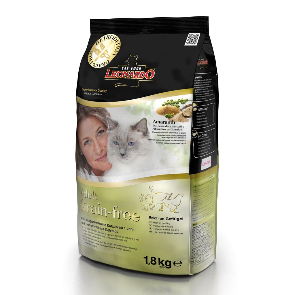 Hrana Pisica Leonardo Grain Free 1.8 Kg imagine