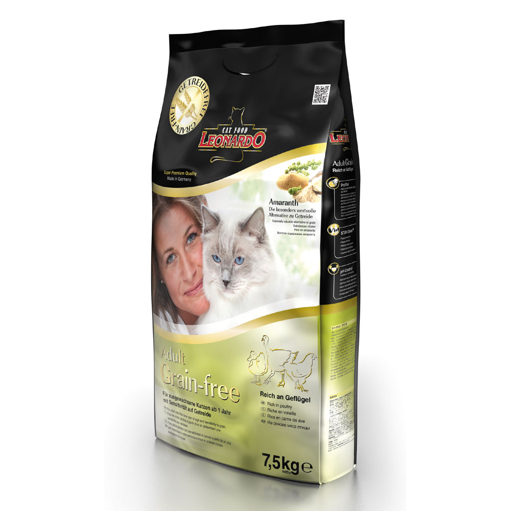 Hrana Pisica Leonardo Grain Free 7.5 Kg imagine
