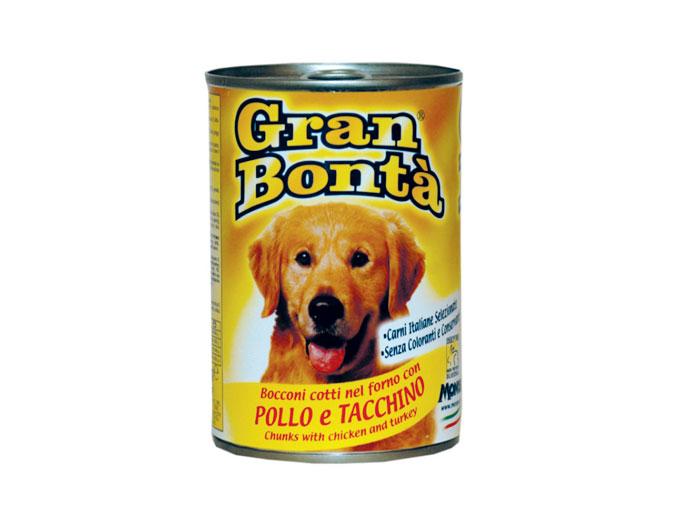 Gran Bonta Dog Pasare Conserva 400 g imagine