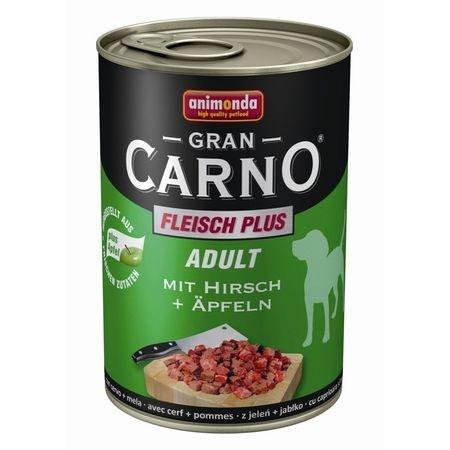 Hrana umeda caini, Grancarno Adult Dog Caprioara + Mar, 400 g imagine