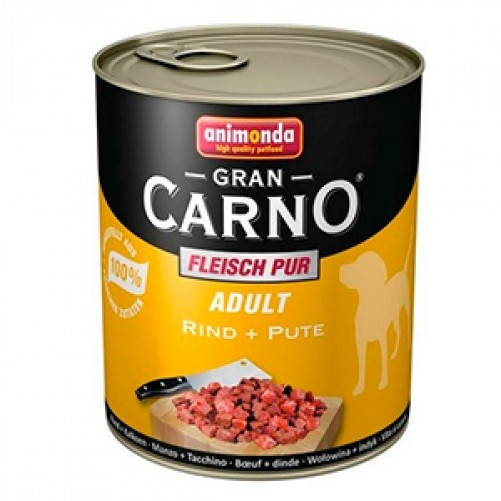 Hrana umeda caini, Grancarno Adult Dog Vita + Curcan, 800 g imagine