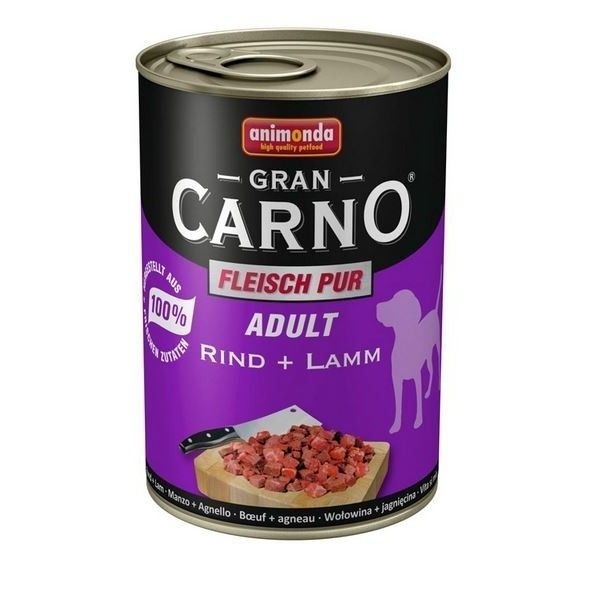 Hrana umeda caini, Grancarno Adult Dog Vita + Miel, 400 g imagine