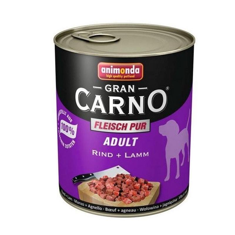 Hrana umeda caini, Grancarno Adult Dog Vita + Miel, 800 g imagine