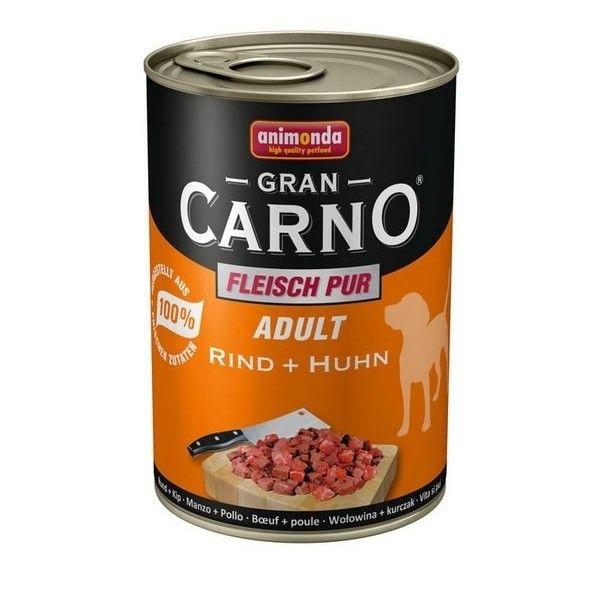 Hrana umeda caini, Grancarno Adult Dog Vita + Pui, 400 g imagine