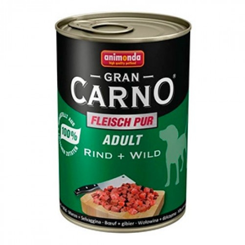 Hrana umeda caini, Grancarno Adult Dog Vita + Vanat, 400 g imagine