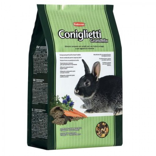 Hrana iepuri, Padovan GrandMix, 3 kg imagine