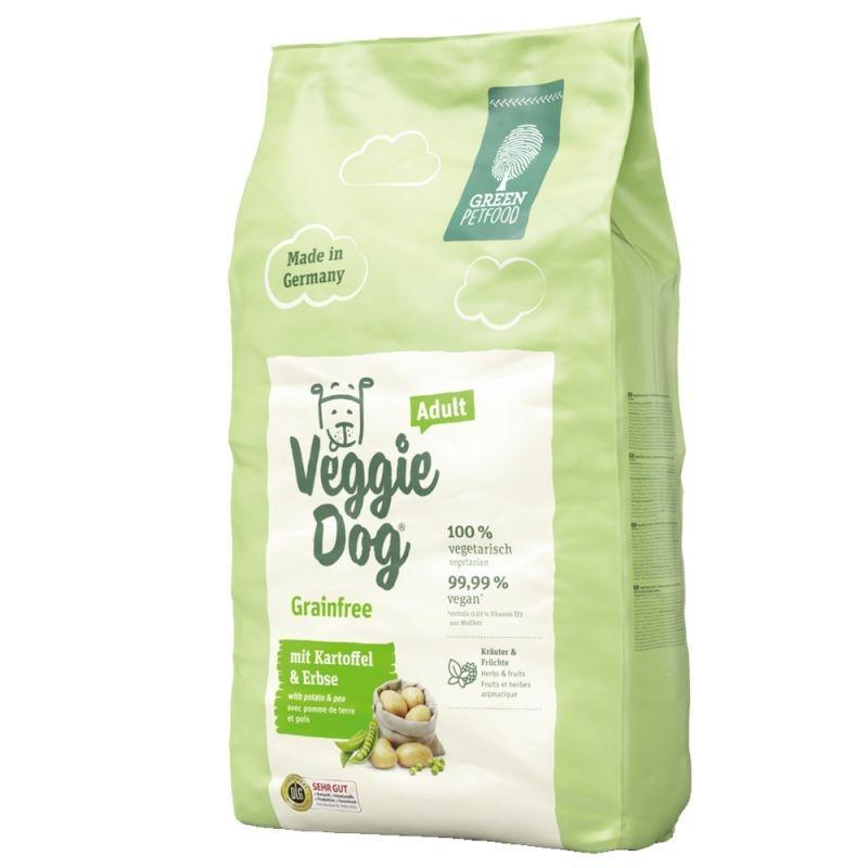Green Veggie Dog Grain Free, 15 kg imagine