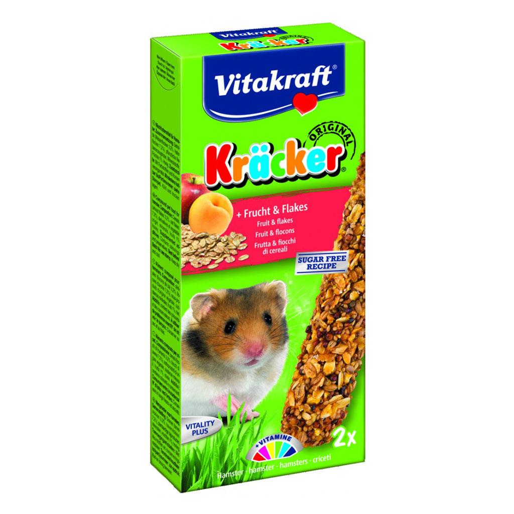 Baton Hamsteri Vitakraft Fructe/Cereale 2 Buc imagine