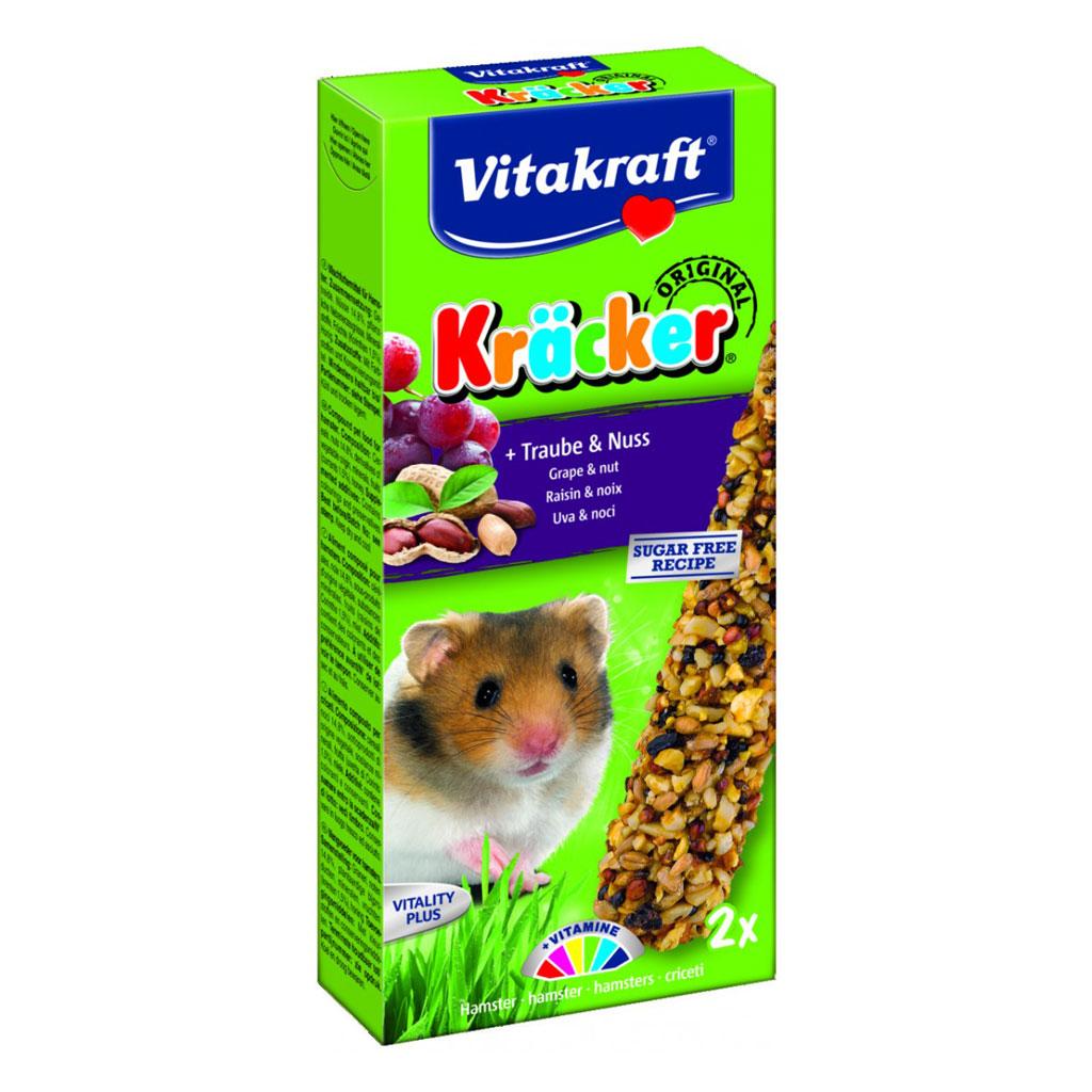 Baton Hamsteri Vitakraft Struguri/nuci 2 Buc