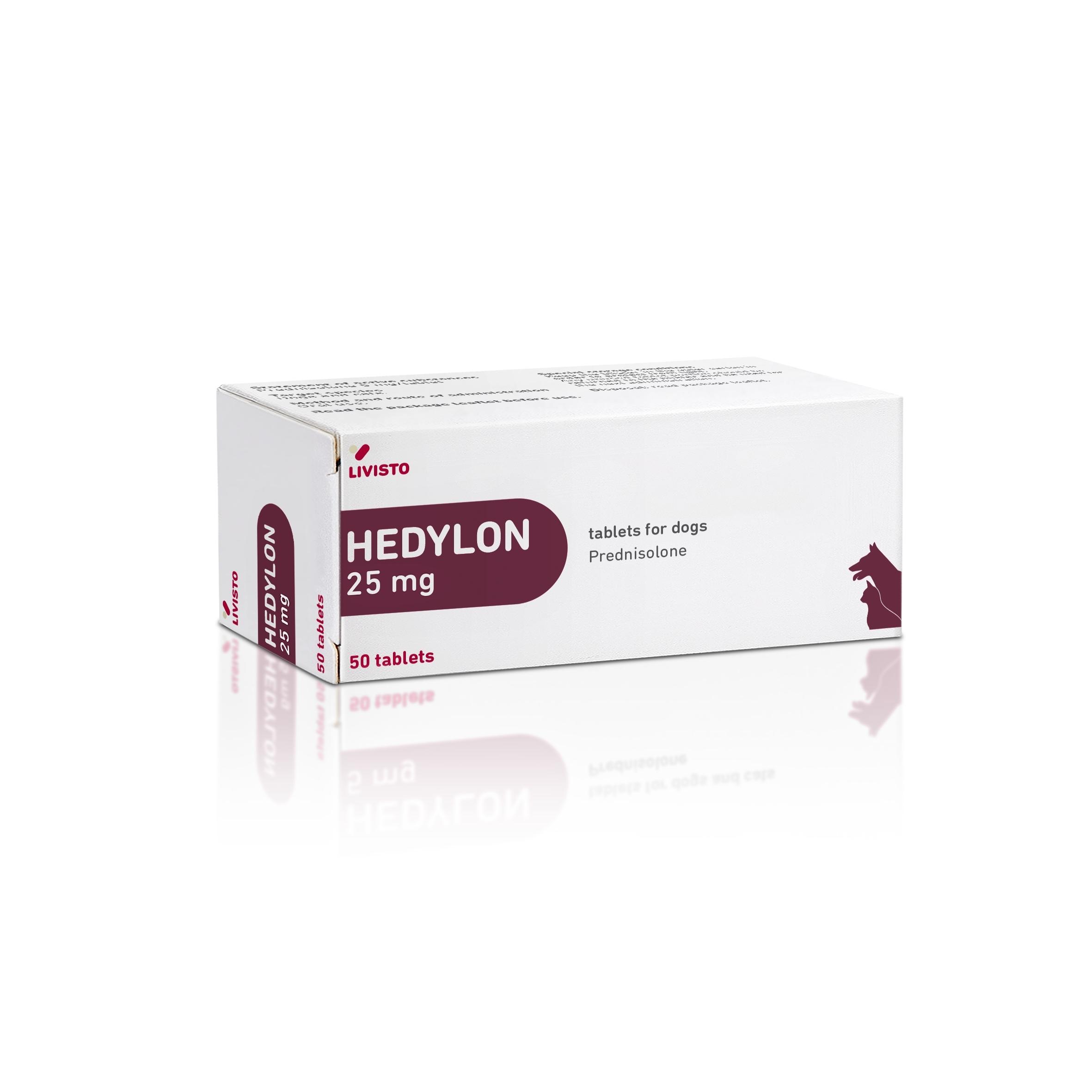 Hedylon, 25 mg/ 50 tbl imagine