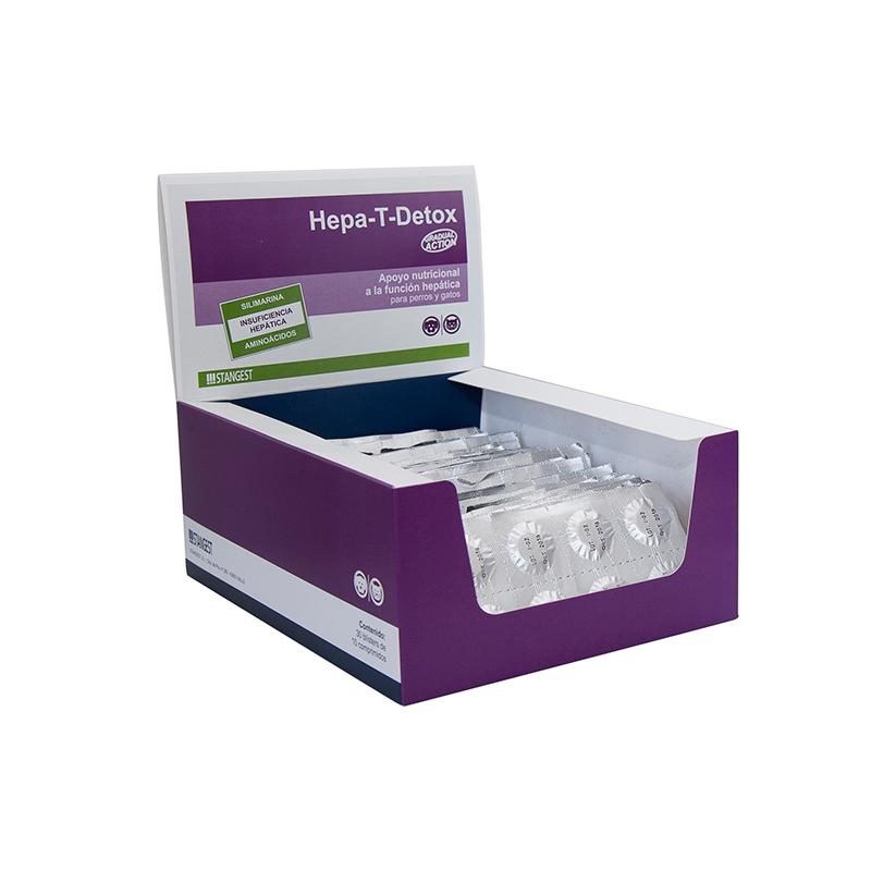 Hepa-T-Detox, blister 10 tbl imagine