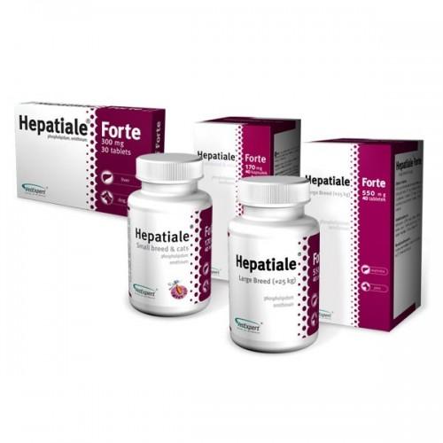 HEPATIALE FORTE LARGE BREED 550MG - 40 TABLETE imagine