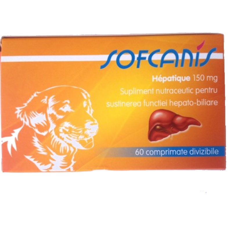 SOFCANIS Caine Hepatique 150 mg 60 comprimate imagine