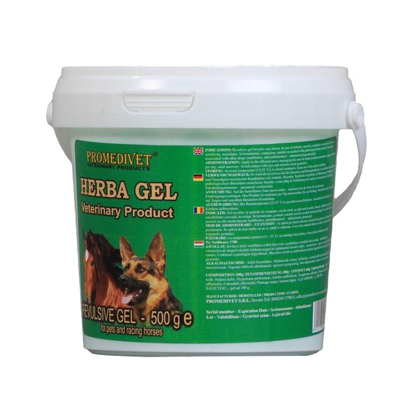 Herba Gel Revulsiv, 500 g imagine