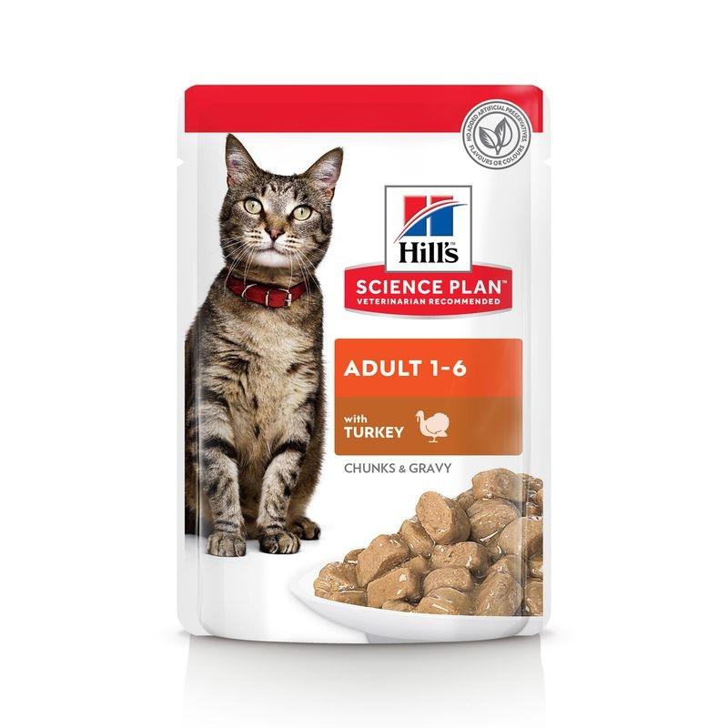 Hill's SP Adult hrana pentru pisici cu curcan 85 g (plic) imagine