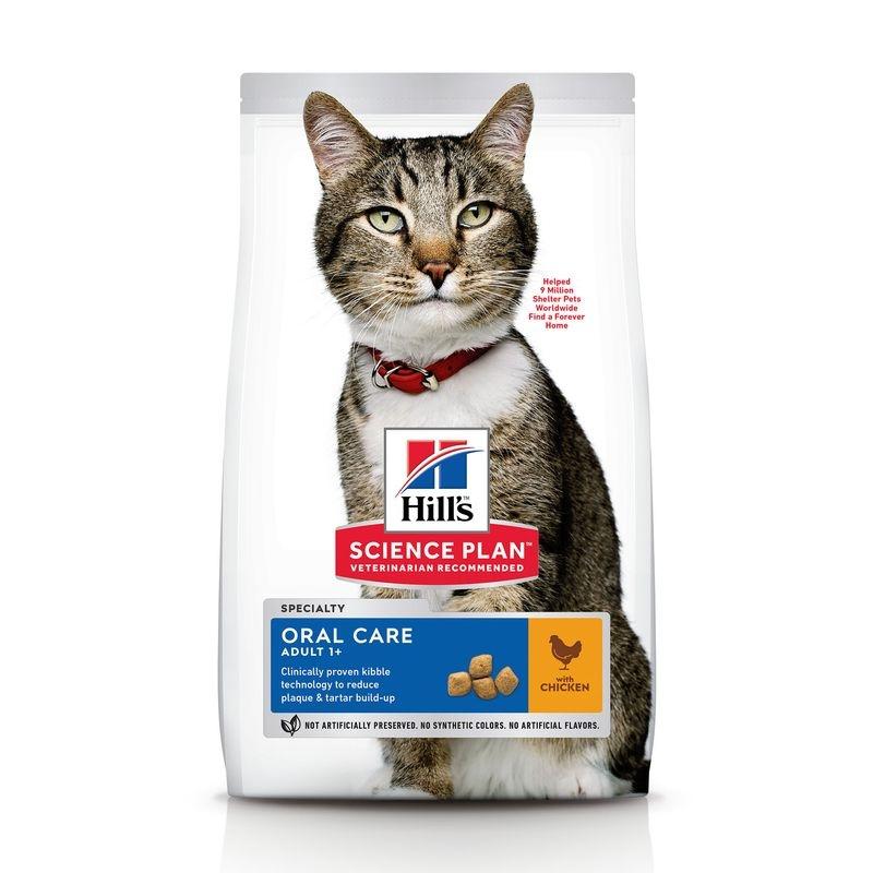 Hill's SP Adult Oral Care hrana pentru pisici 7 kg imagine