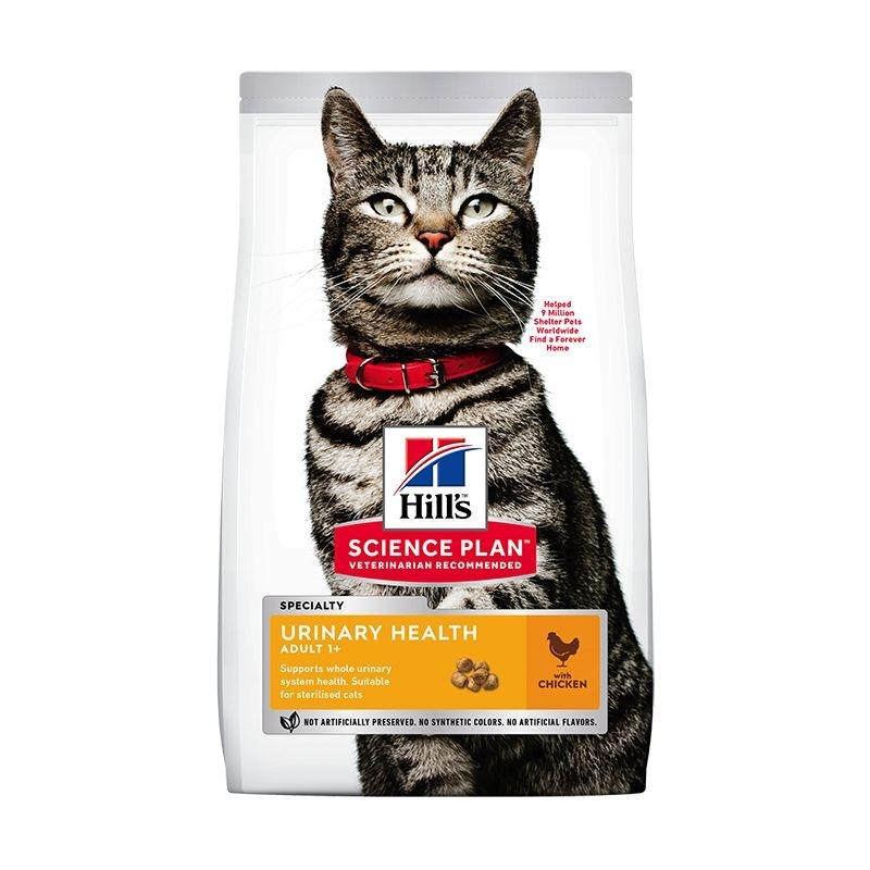 Hill's SP Adult Urinary Health hrana pentru pisici cu pui 3 kg imagine
