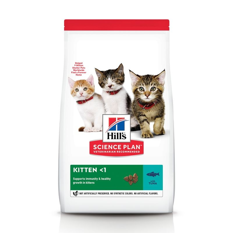 Hill's SP Kitten Healthy Development hrana pentru pisici cu ton 300 g imagine