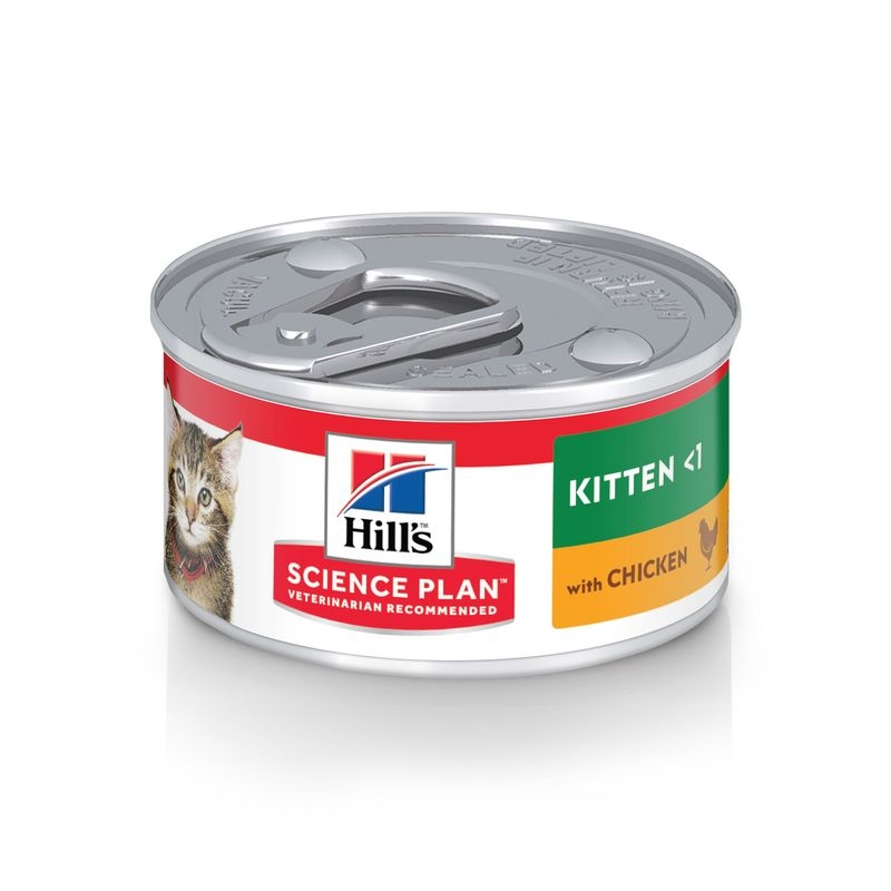 Hill's SP Kitten hrana pentru pisici cu pui 82 g (conserva) imagine