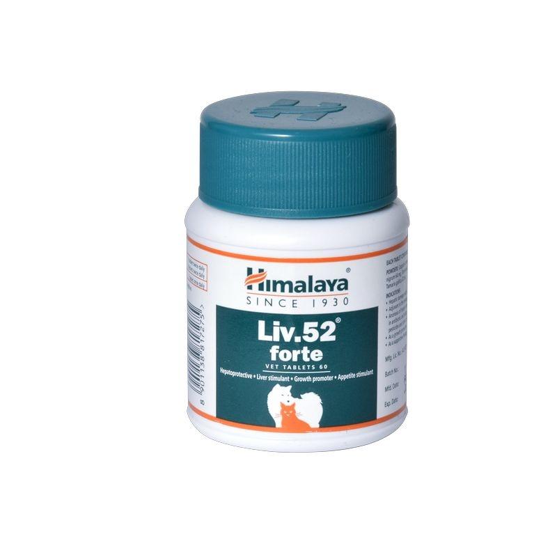 Himalaya Liv 52 Forte Vet, 60 tablete imagine