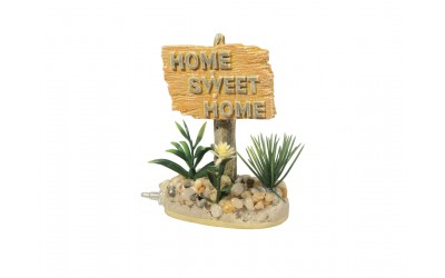 Decor Acvariu Home Sweet Home imagine
