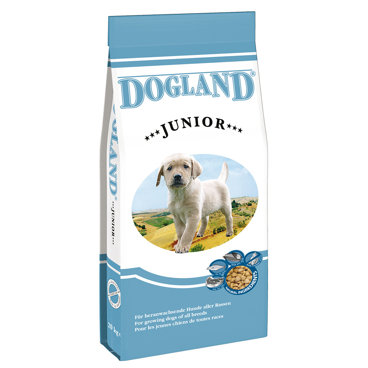 Dogland Dog Junior 15 kg imagine