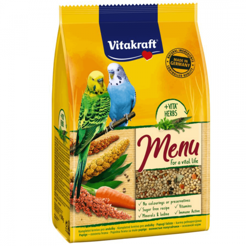 Hrana pentru perusi, Vitakraft Premium Meniu, 500 g imagine