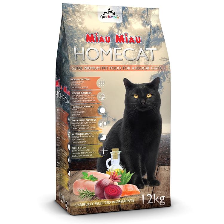 Hrana uscata pisici, Miau Miau, Homecat, 12kg imagine
