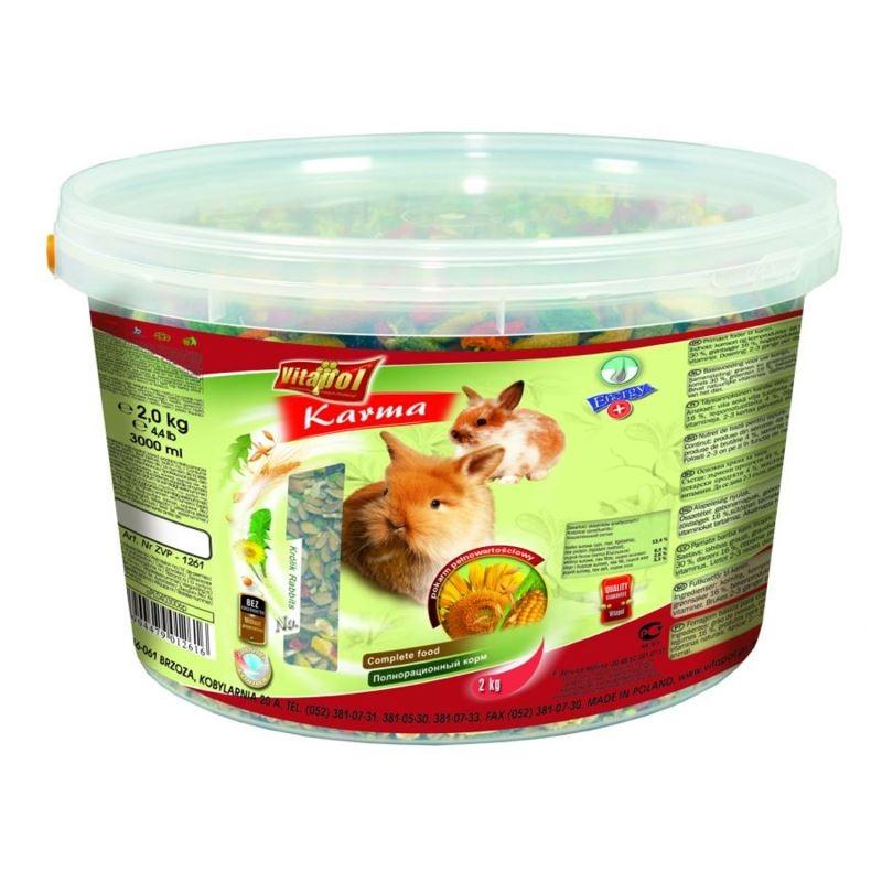 Hrana Completa Pentru Iepuri Vitalpol, 2 Kg