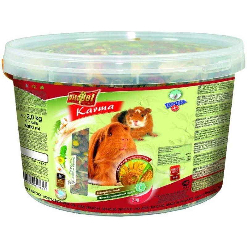 Hrana completa pentru procusor Guineea Vitalpol, 2 kg imagine