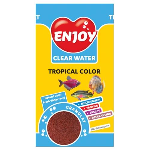 Hrana granule pesti, Enjoy, Tropical Color, 250 ml imagine