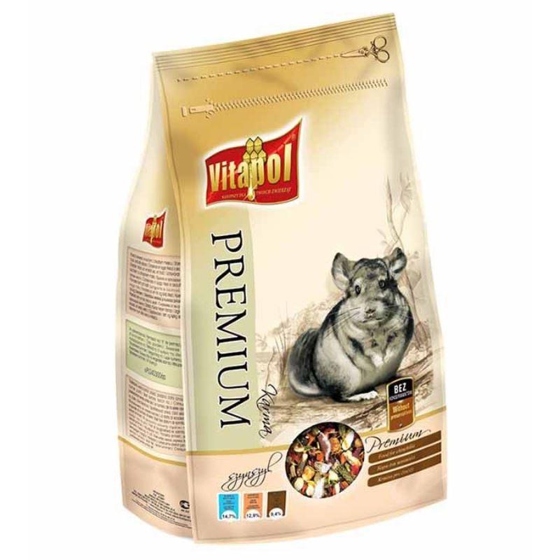 Hrana premium chinchila Vitapol, 750 g imagine