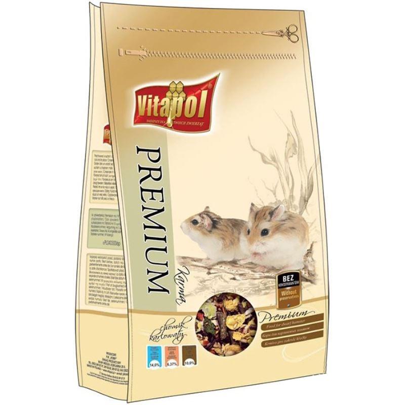 Hrana premium hamsteri Vitalpol, 750 g imagine