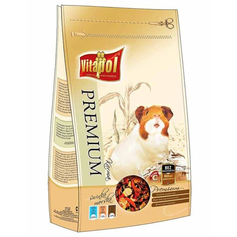 Hrana premium porcusor guineea Vitapol, 900 g imagine