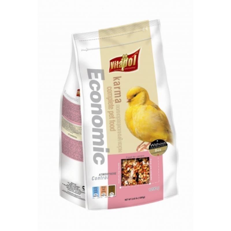 Hrana standard canari Vitapol, 1.2 kg imagine