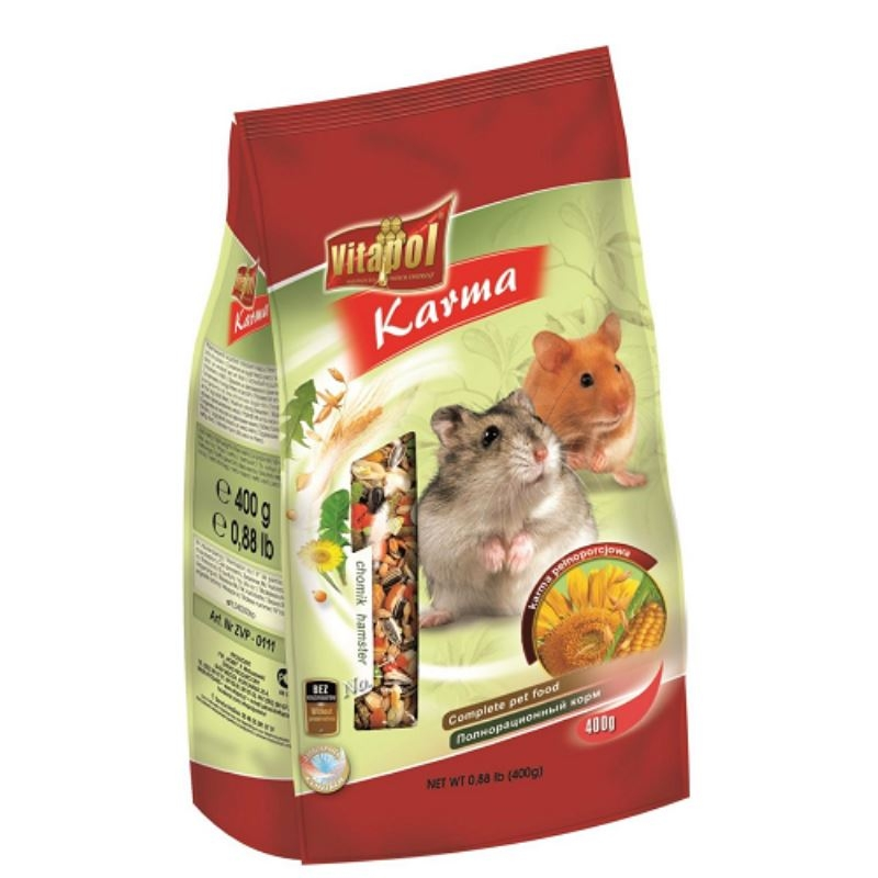 Hrana standard hamsteri Vitalpol, 400 g imagine