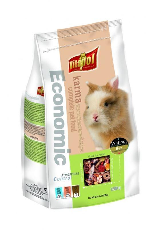 Hrana standard iepuri Vitapol, 1.2 kg imagine