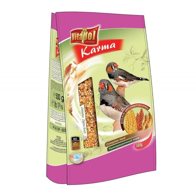 Hrana standard zebrute Vitapol, 500 g imagine