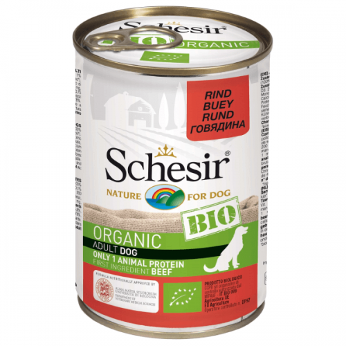 Hrana umeda pentru caini, Schesir Bio Vita, 400 g imagine