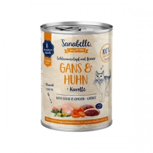 Hrana umeda pisici, Sanabelle, Gasca si Pui, 380 g imagine