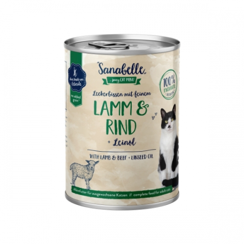 Hrana umeda pisici, Sanabelle, Miel si Vita, 400 g imagine