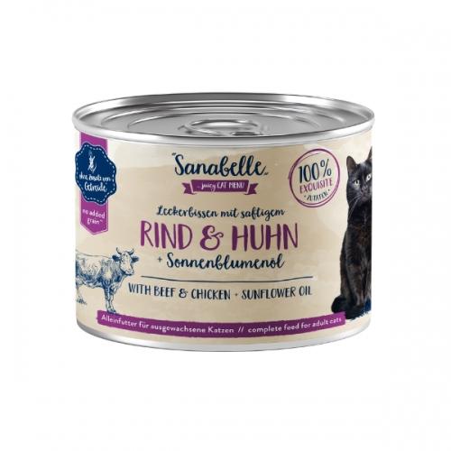 Hrana umeda pisici, Sanabelle, Vita si Pui, 195 g imagine