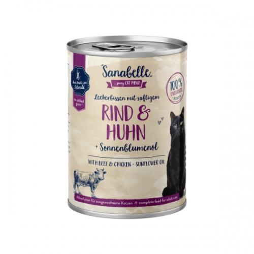 Hrana umeda pisici, Sanabelle, Vita si Pui, 400 g imagine