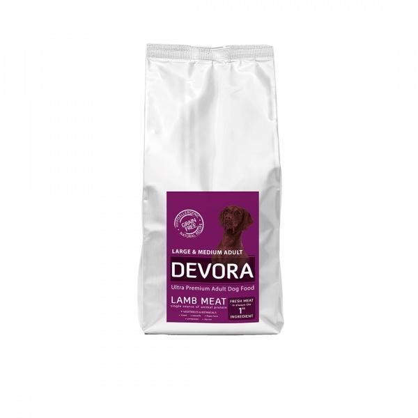 Devora Grain Free Adult Large & Medium, Miel, 7.5 kg imagine