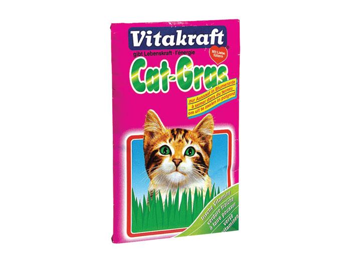 Vitakraft Iarba pisicii plic 50 g imagine